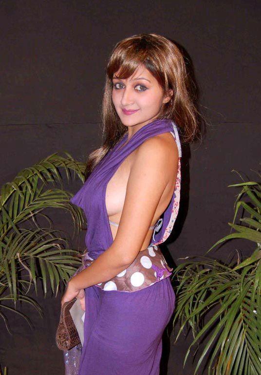 Hot boobs of tv actress