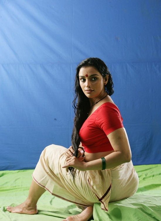 Hot Swetha Menon In Blouse  Petticoat  Visit Wwwfilmybolin-6172
