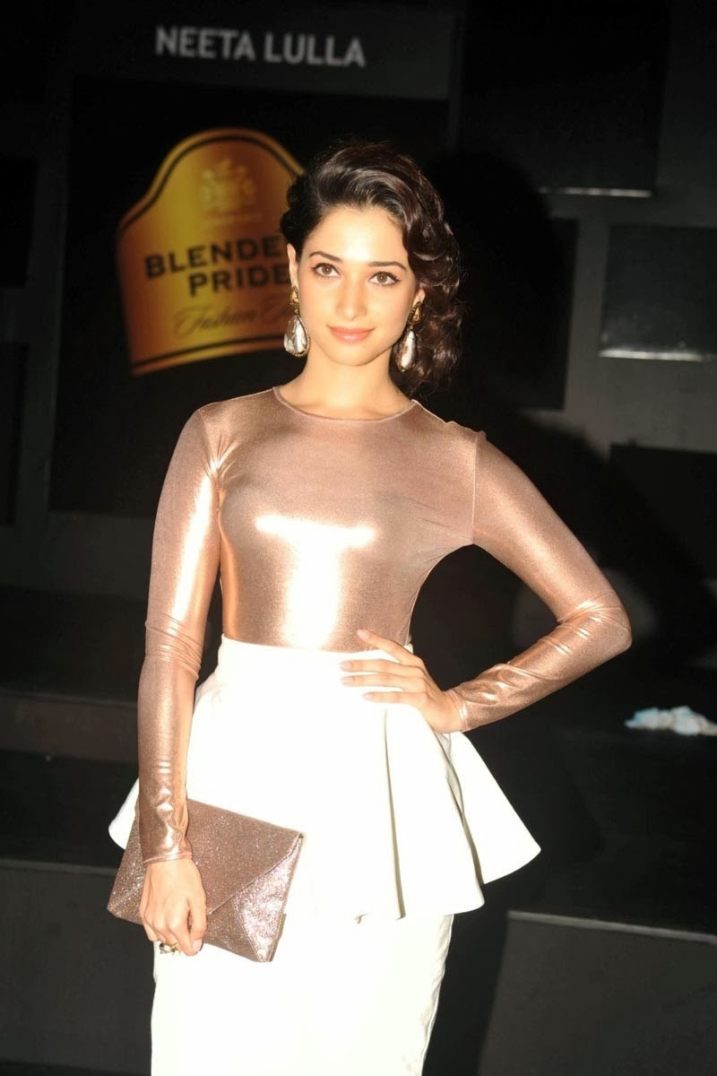 Tamanna Bhatia Beauty Secrets Body Fitness Tips: Tamanna Bhatia Hot Pics From BPFT 2013 Event