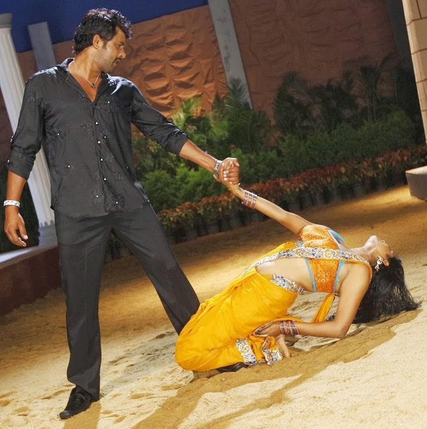 Priyamani Hot Photos In Saree From Tikka Movie