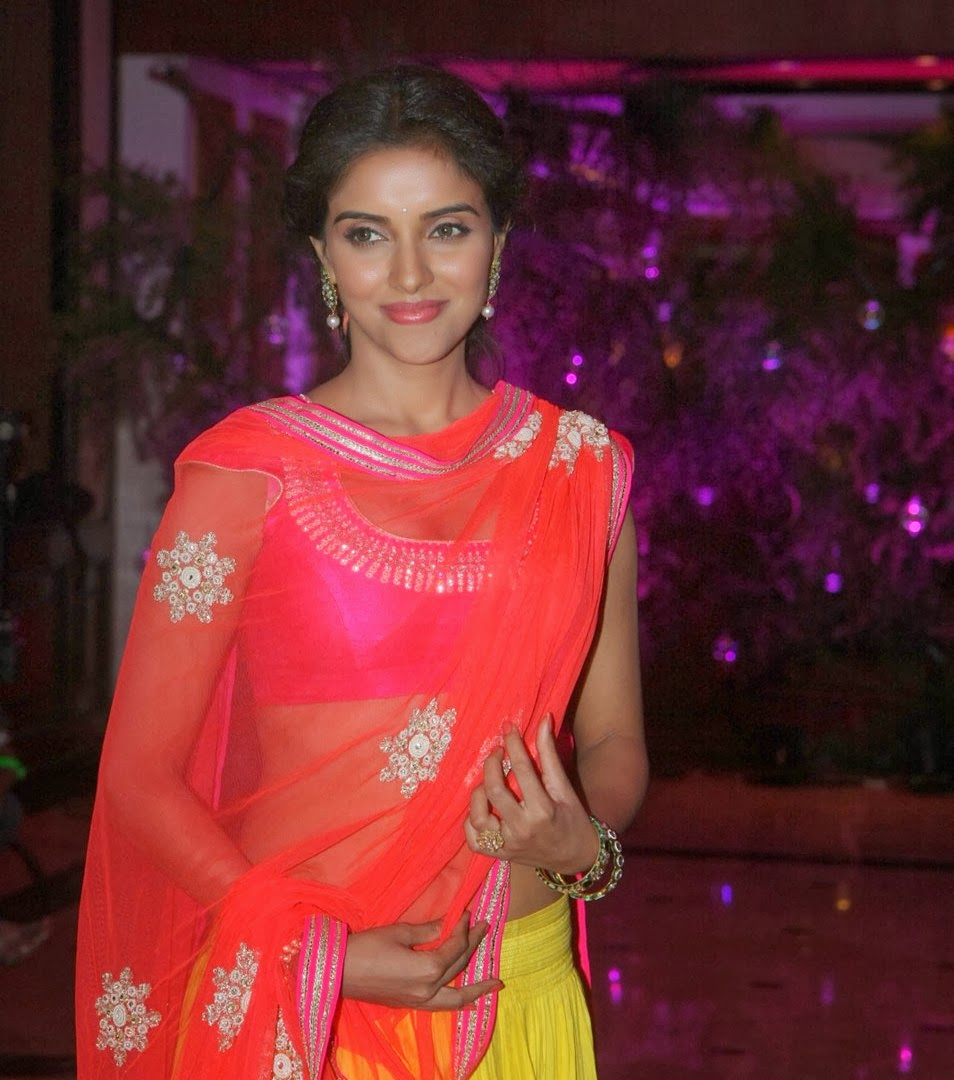Unseen Pics Asin Hot Navel Show In Half Saree  Visit Www -6881