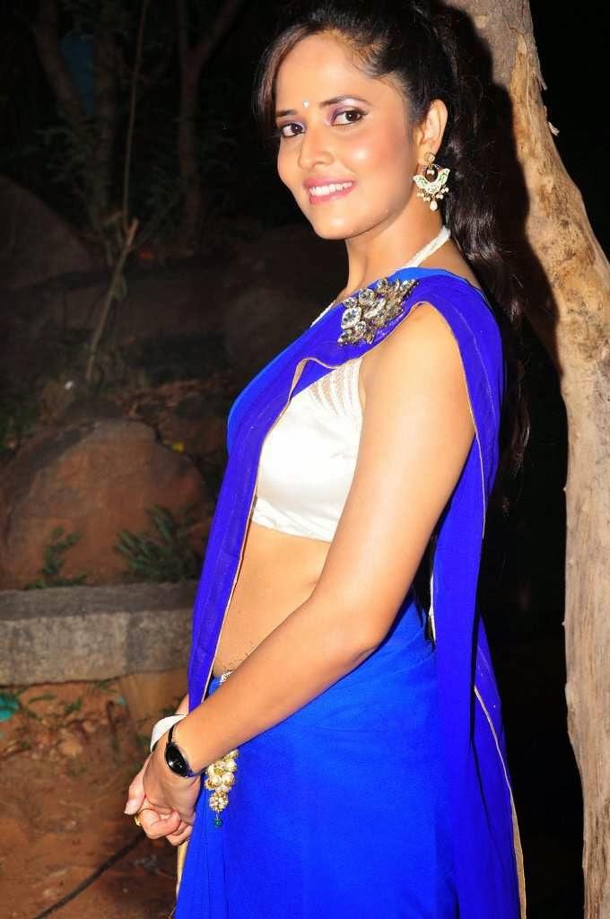 Telugu Tv Anchor Anasuya Sexy Navel Show  Visit Www -3125